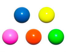 Jac Products 68mm DX Chroma Plus Fluorescent Juggling Ball